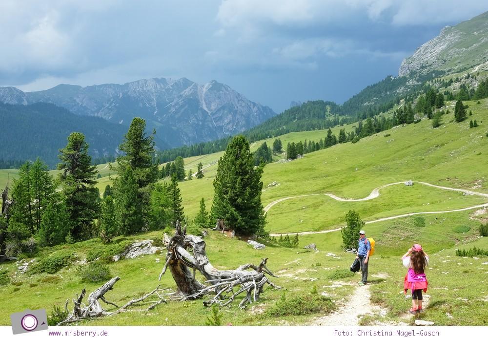 Familienurlaub in Südtirol in der Dolomitenregion Drei Zinnen: Familien-Wanderung Plätzwiese - Dürrsteinhütte