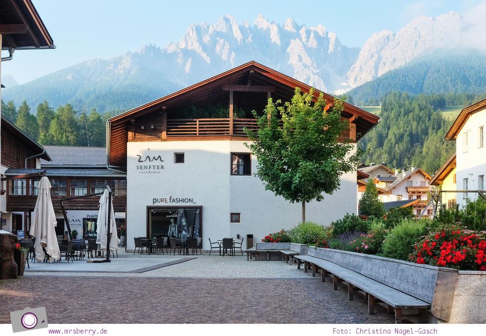 Familienurlaub in Südtirol in der Dolomitenregion Drei Zinnen: Zin Senfter Residence in Innichen