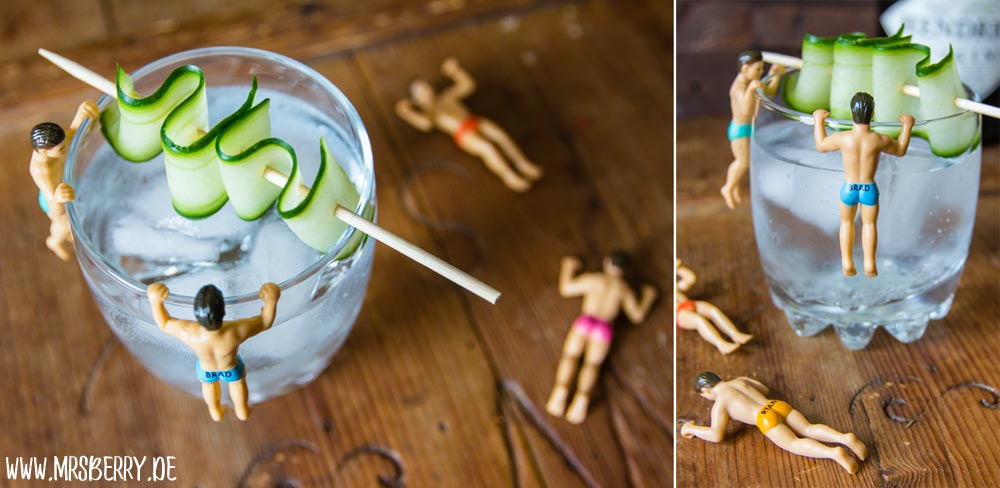 Muttertagsgeschenke: Gin-Cocktail-Party mit Rezepte für Regenbogen-Cocktails mit Drinking Buddies