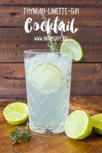 Muttertagsgeschenke: Gin-Cocktail-Party mit Rezept für Thymian-Limette-Gin Cocktail