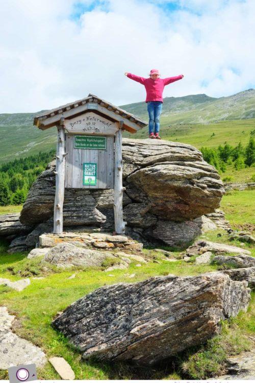Zirbitzkogel in der Steiermark – Urlaub und Wandern mit Kind
