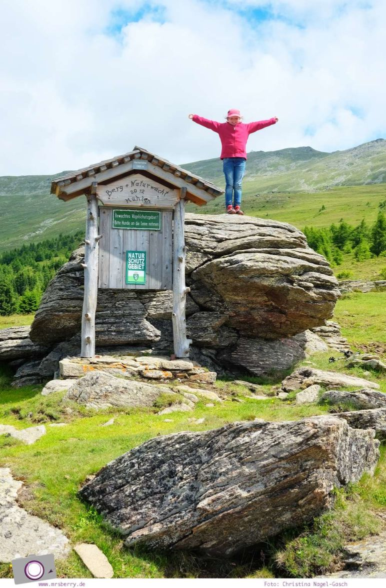 Urlaub Zirbitzkogel in der Steiermark - Wandern mit Kind und Hund | Panorama-Wanderung am Zirbitzkogel