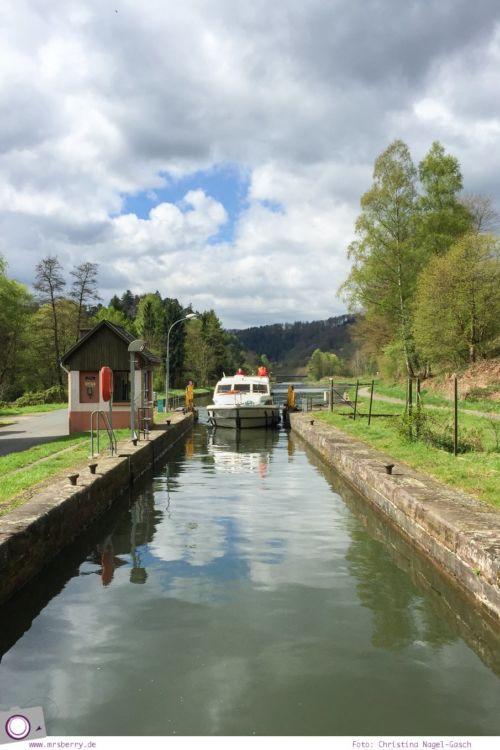 Hausbooturlaub mit Kind: unterwegs auf dem Rhein-Marne-Kanal im Elsass #1