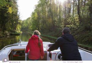 Hausbooturlaub in Frankreich: aus dem Rhein-Marne-Kanal in Elsass-Lothringen   Fahrt durch den Tunnel Niderviller und Tunnel Arzviller.