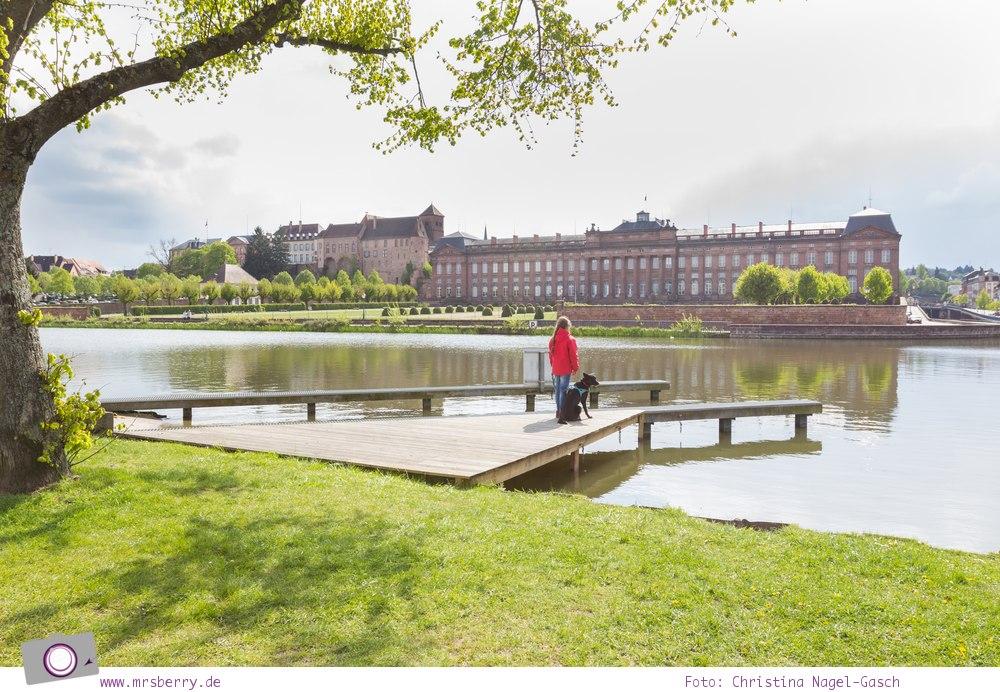 Hausbooturlaub mit Kind in Frankreich: auf dem Rhein-Marne-Kanal in Elsass-Lothringen | Ein Tag in Saverne - Schloss Rohan.