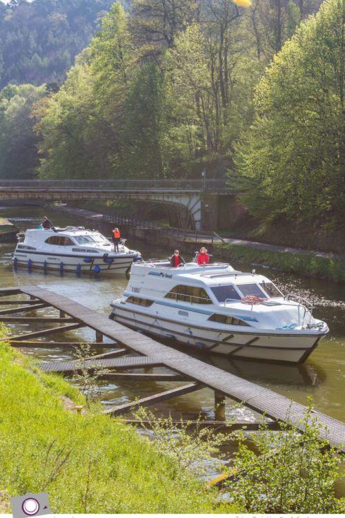 Hausbooturlaub mit Kind: unterwegs auf dem Rhein-Marne-Kanal im Elsass #2