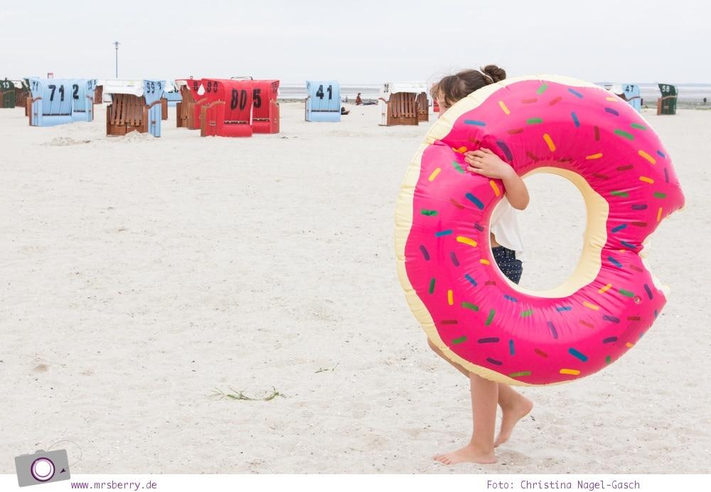 Geburtstagsgeschenke für Reisende - Gadgets mit Fun Faktor | Riesen Donut Schwimmreifen