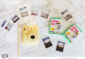 Geburtstagsgeschenke für Reisende - Gadgets mit Fun Faktor | Fujifilm Instax Mini Filme