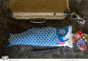 Geburtstagsgeschenke für Reisende - Gadgets mit Fun Faktor | Koi Nobori Wäschebeutel