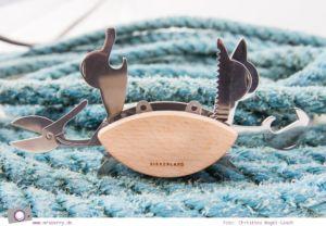 Geburtstagsgeschenke für Reisende - Gadgets mit Fun Faktor   Krabben Multiwerkzeug