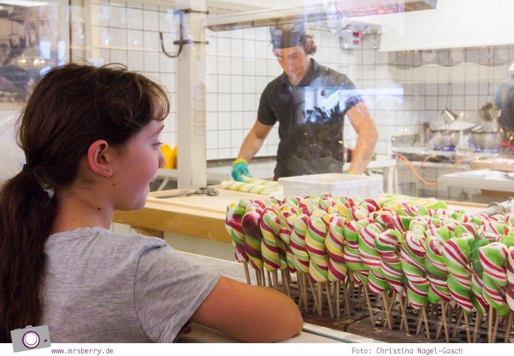 Schweden mit Kindern - Tipps für Småland in Südschweden: Ausflug nach Gränna zu den Zuckerstangenfabriken