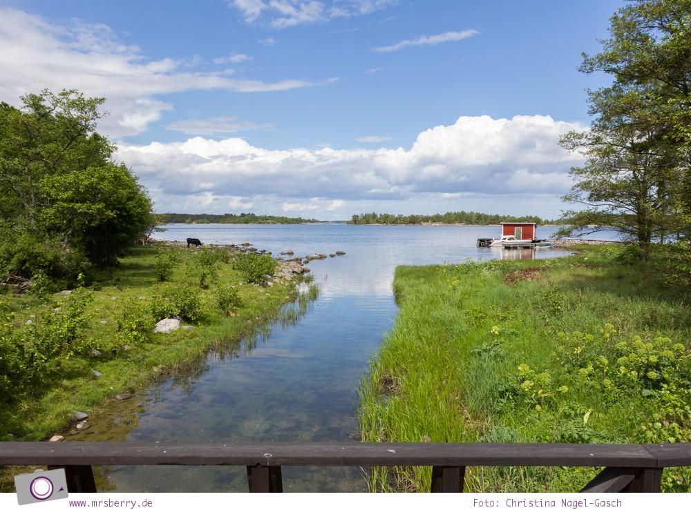 Schweden mit Kindern - Tipps für Småland in Südschweden: Ausflug nach Västerik und per Boot auf die Schären-Insel Hasselö