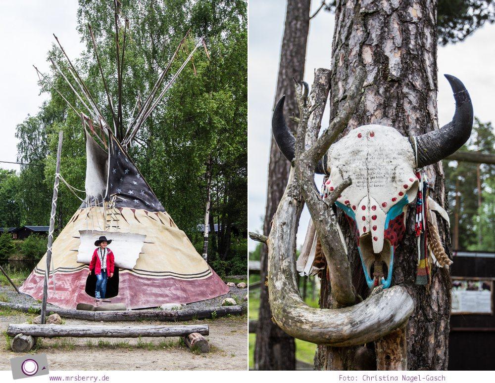Schweden mit Kindern - Tipps für Småland in Südschweden: Ausflug in den Wilden Westen zum High Chaparral Western-Themen-Park