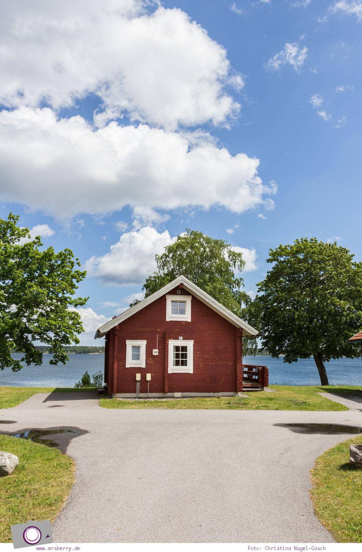 Schweden mit Kindern - Tipps für Småland in Südschweden: Ausflug zu den Schären nach Västerik - Campingplatz Lysingsbadet (Schwedens größter Campingplatz)