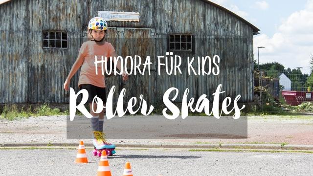 Outdoor Spaß mit Hudora - coole Rollschuhe und wendiges Skateboard der neuen Skate Wonders Serie für Mädchen im MrsBerry Test