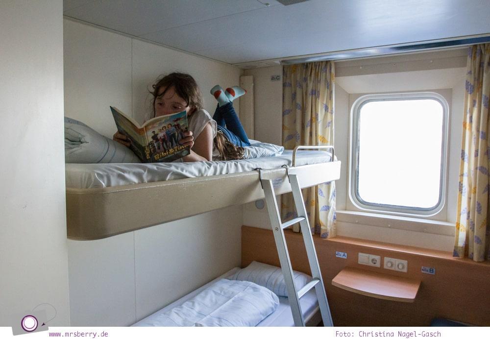 MrsBerry Familien-Reiseblog | Fähre nach Schweden: mit TT-Line von Travemünde nach Trelleborg mit Kind