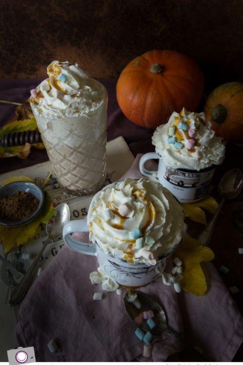 Pumpkin Spice Sirup & Pumpkin Spice Latte
