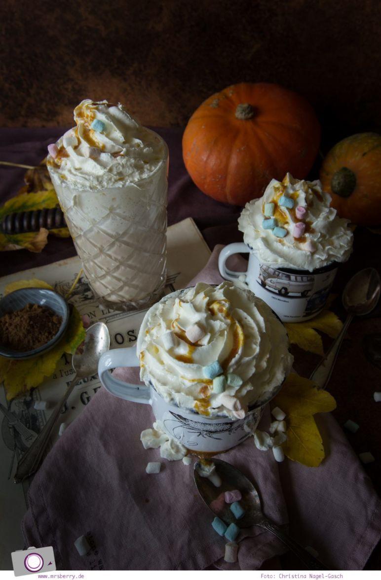 Rezept Pumpkin Spice Syrup und Pumpkin Spice Latte von MrsBerry.de