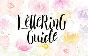 Lettering Guide: Hand Lettering lernen für Anfänger und Fortgeschrittene via MrsBerry.de