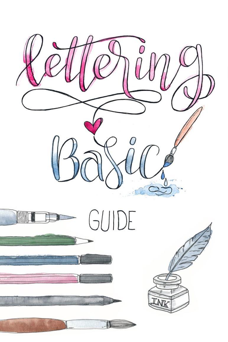 Lettering | Handlettering, Brushlettering und mehr - cover
