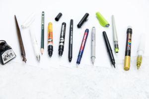 Lettering Basic Guide mit Tipps & Tricks für Anfänger und Fortgeschrittene | Lettering Stifte und andere Material Empfehlungen