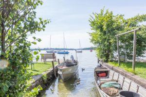 Prien am Chiemsee: Tipps für den Familienurlaub in Bayern vom MrsBerry Familien-Reiseblog   Besuch der Fraueninsel mit Inselidylle pur.