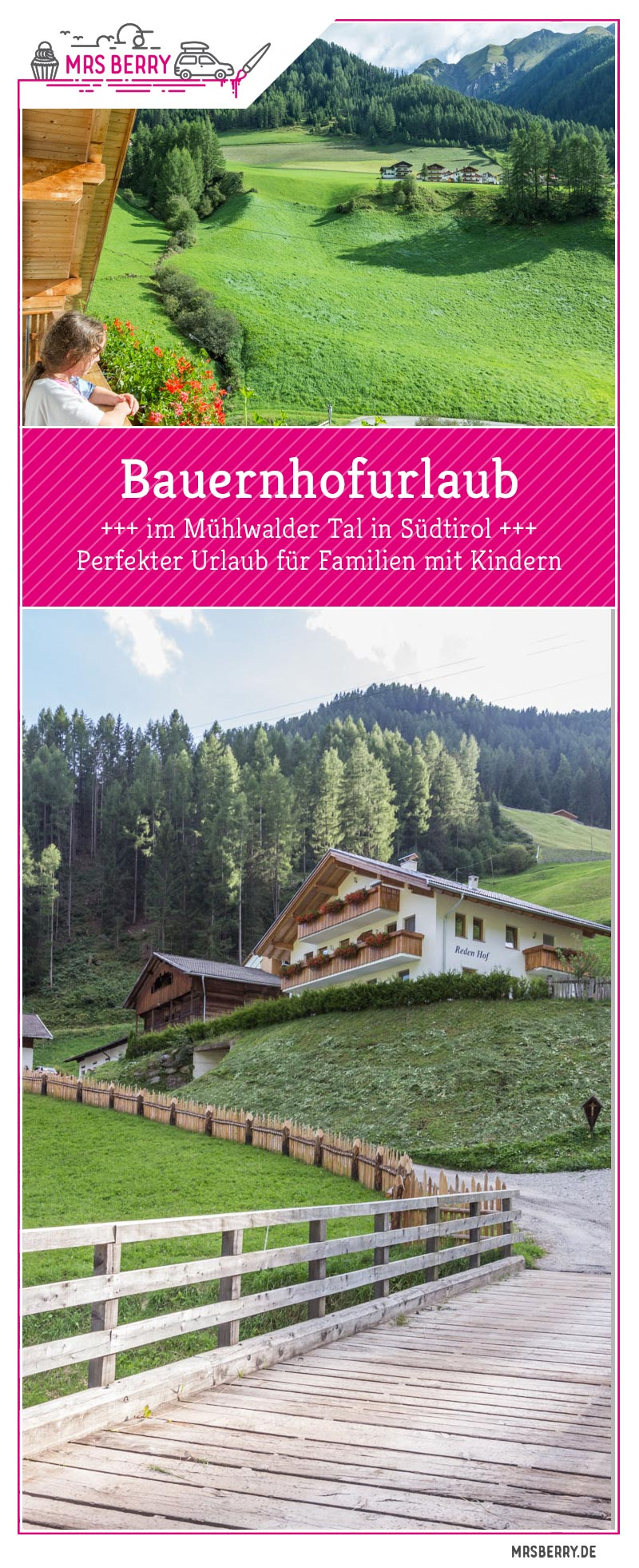 Bauernhofurlaub in Südtirol mit Roter Hahn | Urlaub auf dem Reden Hof Bauernhof im Mühlwalder Tal | Reisebericht MrsBerry Familienblog & Reiseblog