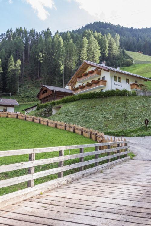 Bauernhofurlaub in Südtirol mit Roter Hahn