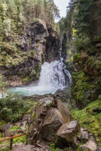 Familienwanderungen im Ahrntal in Südtirol - Rheinbach Wasserfälle und Fly-Line | MrsBerry Familienreiseblog