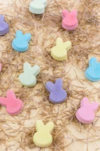 Osterhasen Kreide selber machen als last Minute Ostergeschenk | Step by Step Anleitung wie du Kreide selber machen kannst | Dieses und weitere DIYs findest du im MrsBerry Familien-Reiseblog - Der DIY-Blog für Familien!