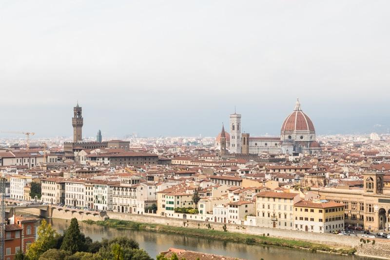 Toskana Urlaub in den Hügeln des Chianti Classico und die schönsten Ausflugsziele im Chianti Gebiet - Tagesausflug nach Florenz