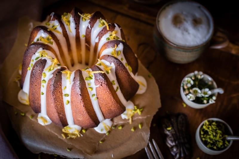 Zitronenkuchen Gugelhupf Mrsberry Familien Reiseblog
