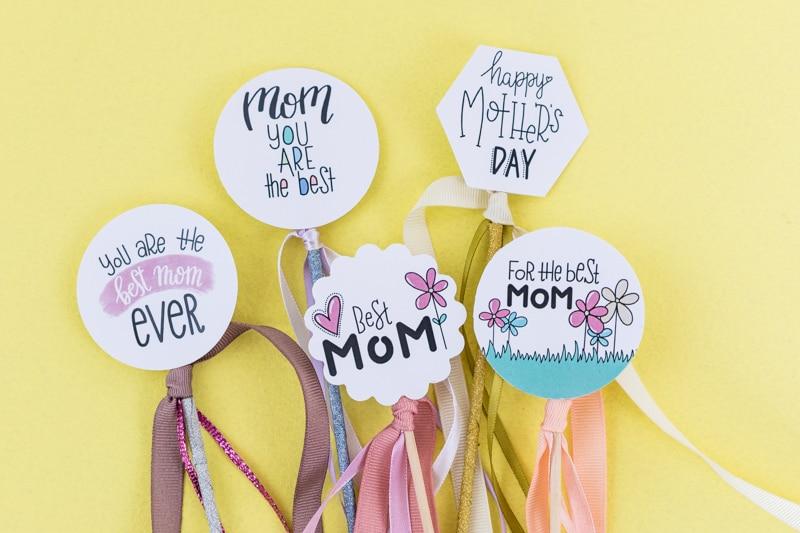 Geschenke Topper Freebie Zum Muttertag Mrsberry Familien