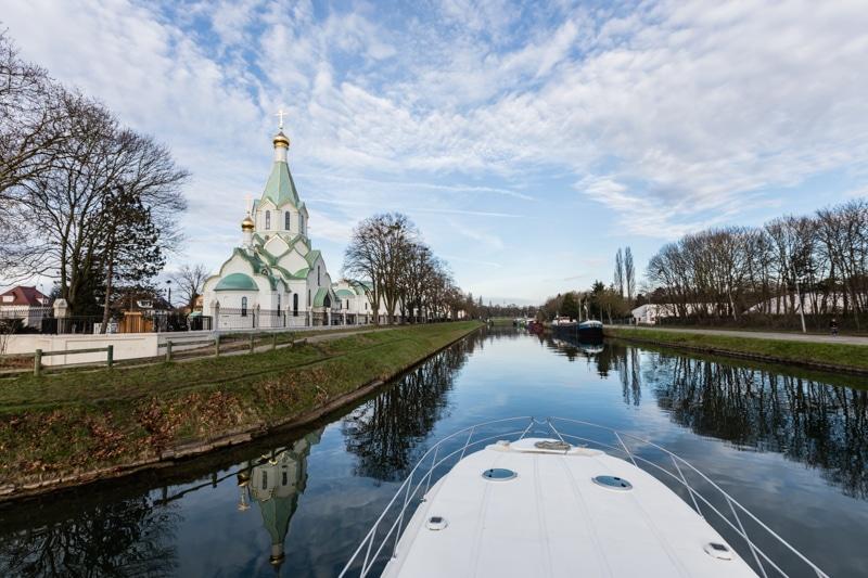 Hausbootferien in Frankreich - Familienurlaub auf dem Hausboot auf dem Rhein-Marne-Kanal in Elsass - MrsBerry Familien-Reiseblog: mit dem Hausboot nach Straßburg