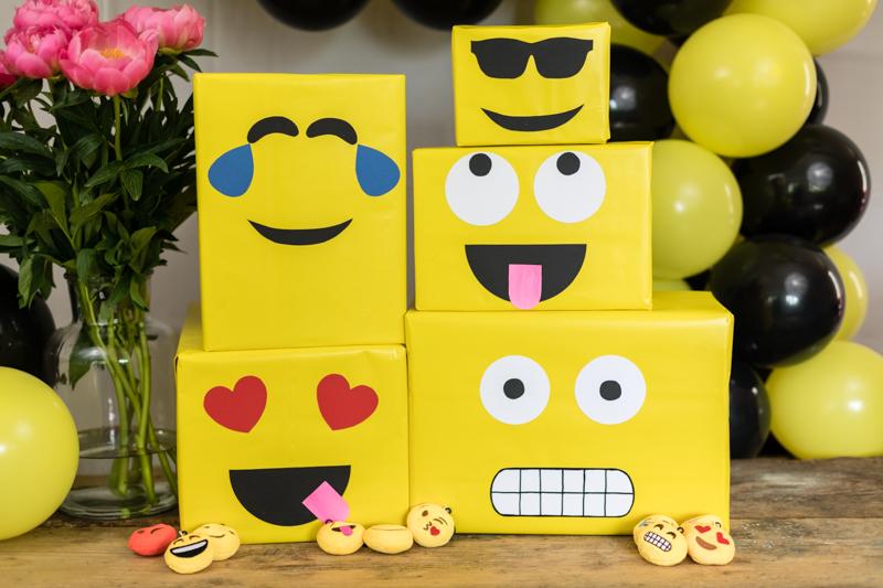 Emoji Diy Geburtstagsparty Deko Ideen Mrsberry Familien Reiseblog
