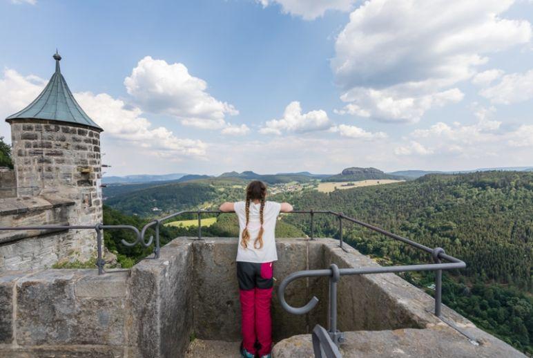 Sächsische Schweiz: Familienurlaub in Hinterhermsdorf - Familien-Ausflug zur Festung Königstein