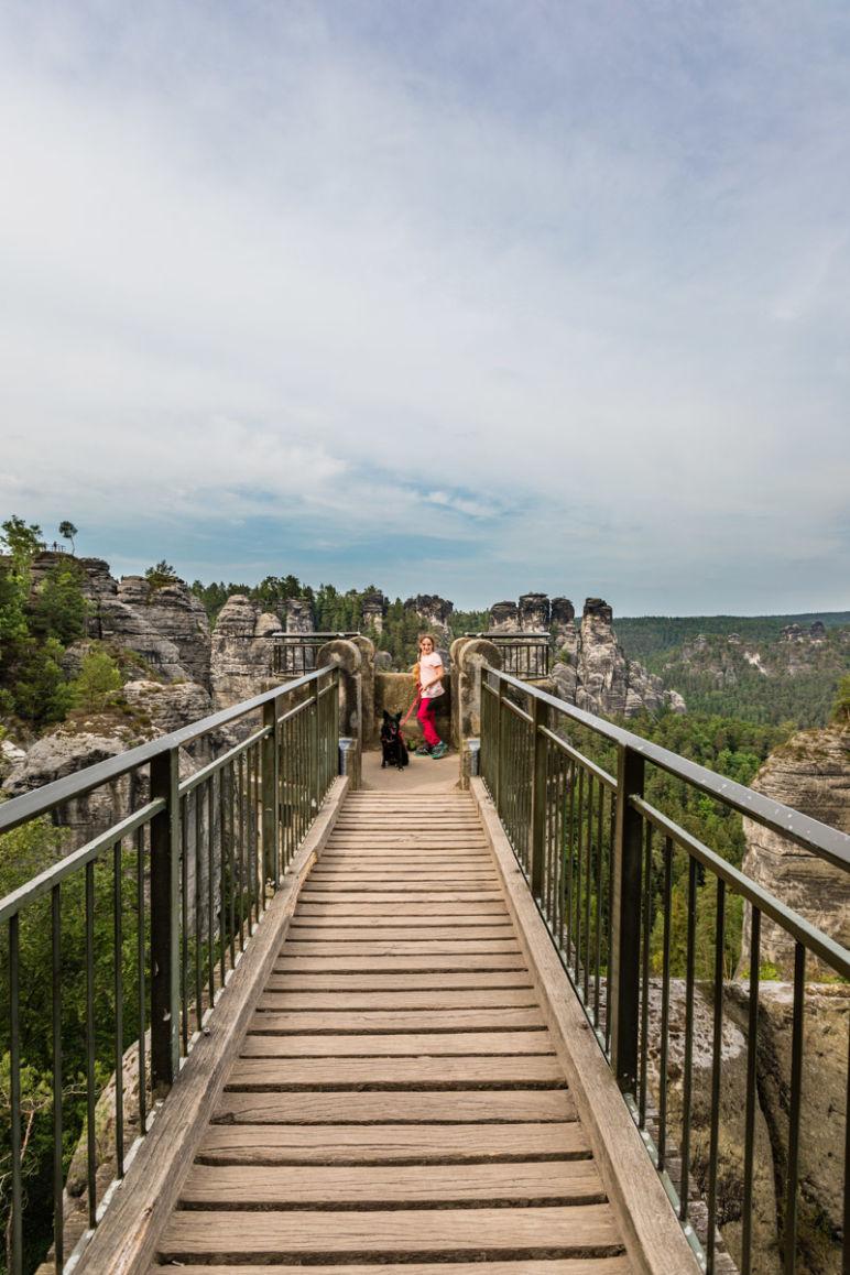 Sächsische Schweiz: Familienurlaub in Hinterhermsdorf - Nationalpark Wanderung Bastei