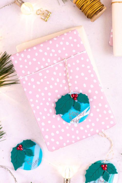 DIY Geschenkanhänger aus Fimo selber machen