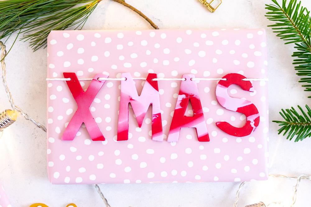 Tolle Weihnachtsgeschenke.Geschenke Verpacken Weihnachtsgeschenke Beschriften Mit Fimo