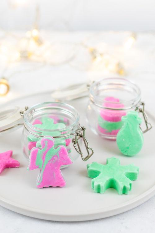 Geschenkidee: DIY Knetseife als Last Minute Weihnachtsgeschenk