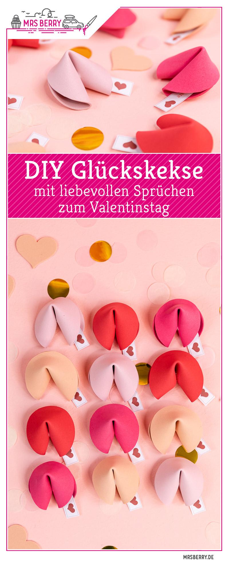 Diy Gluckskekse Basteln Geschenkidee Zum Valentinstag Mrsberry De