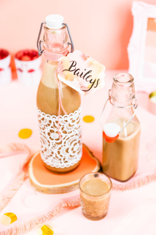 Baileys selber machen – cremiger Sahnelikör mit Rum