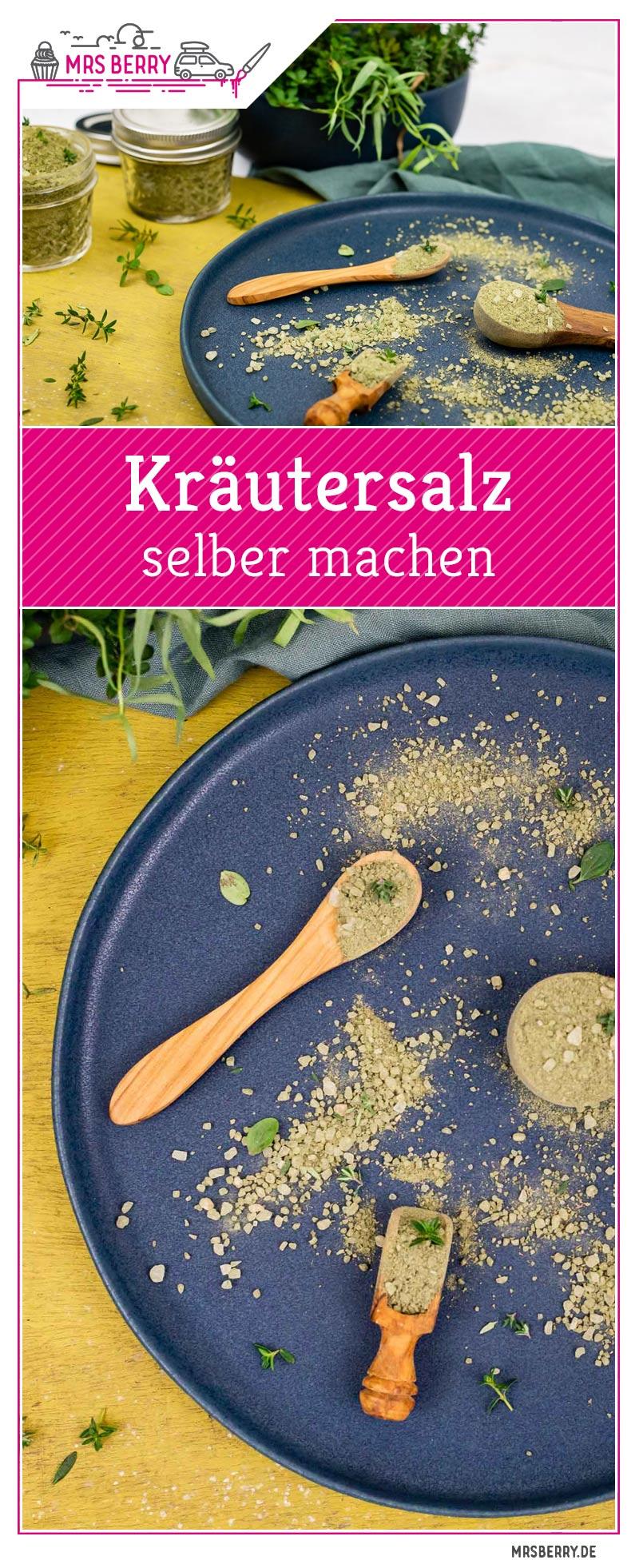 Kräutersalz, Gewürzsalz, Blütensalz - 3 Geschenkideen aus ...