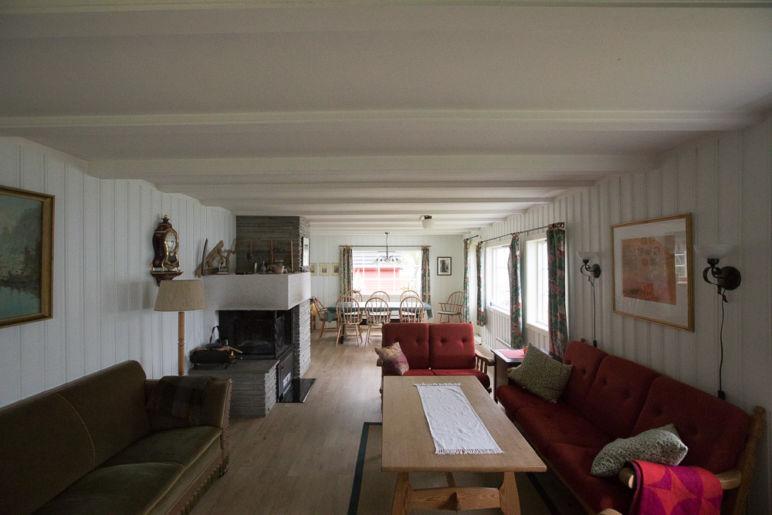 Urlaub in Norwegen - Familienurlaub im idyllischen Ferienhaus am Sørfjord: Ferienhaus in Garnes bei Bergen, familienfreundlich und geeignet für 8 Personen