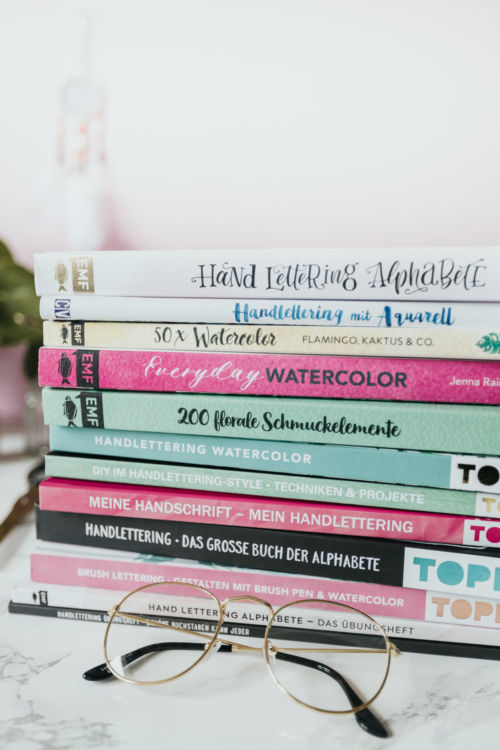 Meine Lettering & Watercolor Bücher Tipps