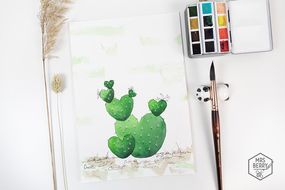 Ferienkurs Köln - Watercolor Ferienkurs für Kinder und Jugendliche   Workshop für Aquarellmalerei und Illustration des MrsBerry Kreativ-Blog