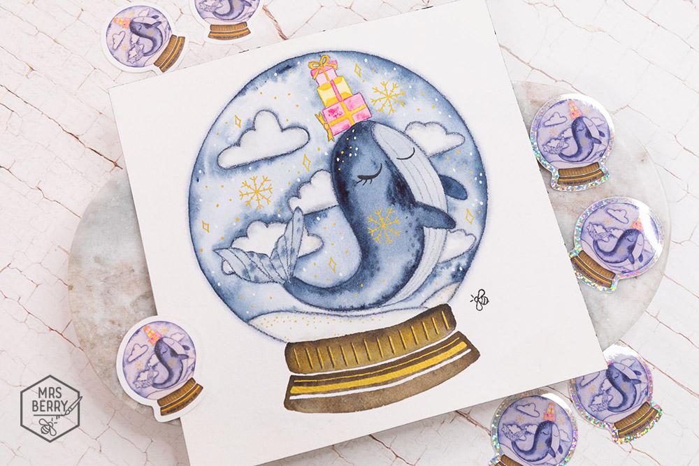 Ferienkurs Köln - Watercolor Ferienkurs für Kinder und Jugendliche | Workshop für Aquarellmalerei und Illustration des MrsBerry Kreativ-Blog