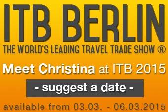 MrsBerry Familien- & Reiseblogger auf der Reisemesse ITB Berlin 2015